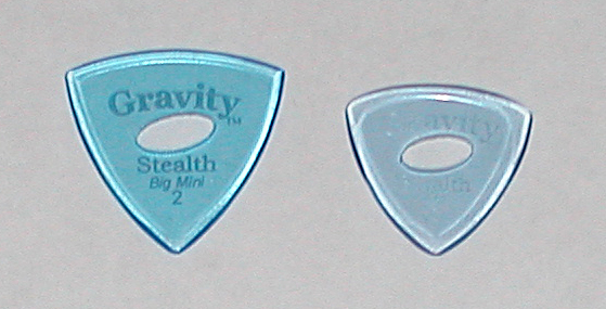 Gravity Guitar Picks Stealth